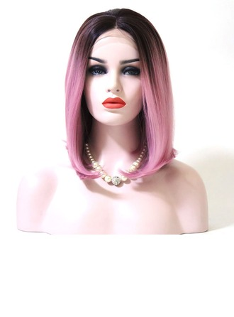 Straight Synthetic Hair Lace Front Wigs 200g