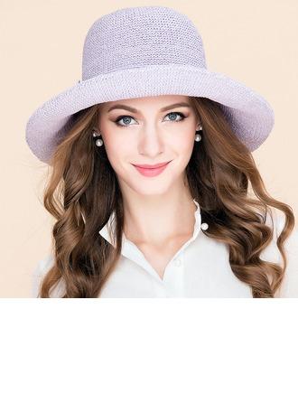 Elegant Polyester Floppy Hat/Kentucky Derby Hats