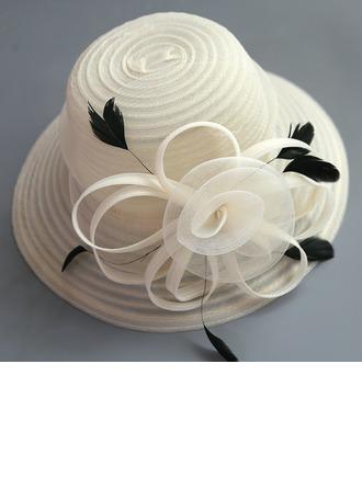Dames Spécial/Élégante/Fantaisie Fil net avec Une fleur Chapeaux de type fascinator/Chapeaux Tea Party