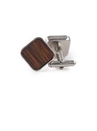 Jahrgang Holz Kupfer Manschettenknöpfe