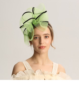 Dames Mode/Spécial/Glamour/Élégante/Unique/Fantaisie/Romantique/Style Vintage/Artistique Fil net Chapeaux de type fascinator/Kentucky Derby Des Chapeaux