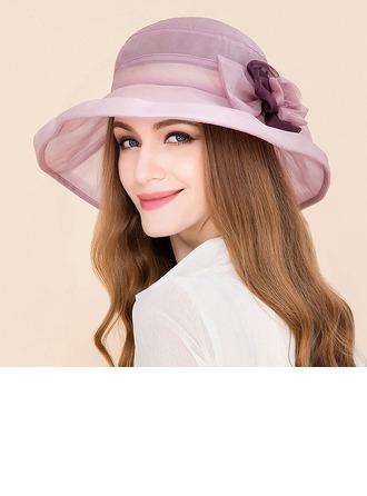 Dames Style Classique Soie avec Strass Disquettes Chapeau/Kentucky Derby Des Chapeaux/Chapeaux Tea Party