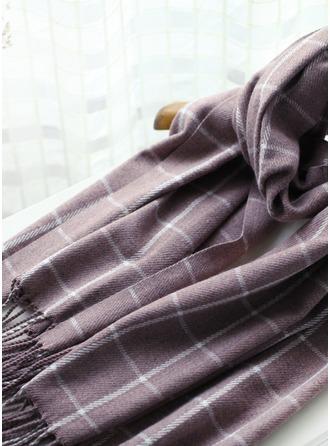 Plaid nadměrné velikosti/Šály/móda Akryl/Umělá vlna šály ()