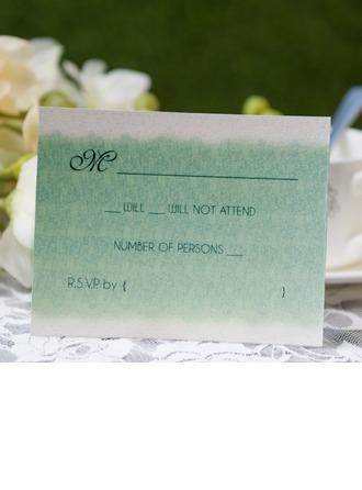Personlig klassisk stil Svarskort (Sats om 50)
