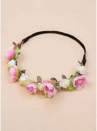 Silk Flower Flower Headband