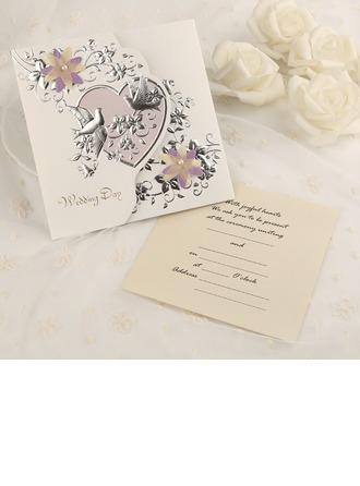 Estilo Clássico Tri-Fold Cartões de convite (Conjunto de 50)