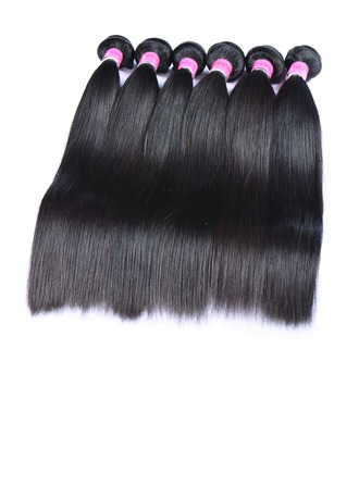 5A Straight Human Hair Hair Weaves/Weft Hair Extensions (Sold in a single piece)
