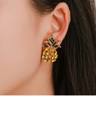 Unique Alloy With Rhinestone Women's Fashion Earrings