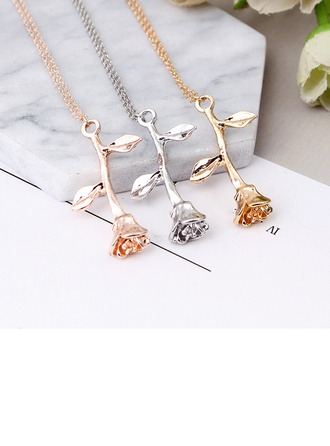 Fashional Alloy Ladies' Fashion Necklace