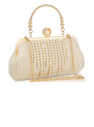 Elegant/Classical Pearl Clutches/Bridal Purse/Evening Bags