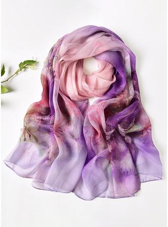 Lett/Oversized Mulberry silke Skjerf