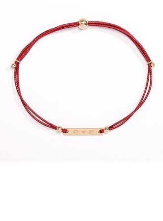 gepersonaliseerde Schakelketting Gegraveerde armbanden - Kerstcadeaus Voor Haar
