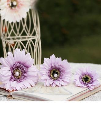 Güzel Faux Pearl/Suni İpek Saç Tokaları/Çiçekler