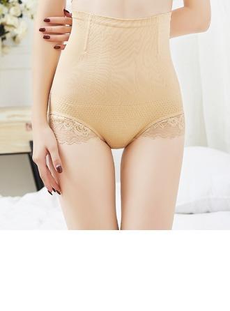 Femmes Féminine/Charme De chinlon/Nylon Respirabilité Taille haute Culotte/Cinchers à la taille avec Dentelle Corsets