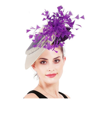 Ladies' Unique/Amazing With Feather Fascinators/Kentucky Derby Hats