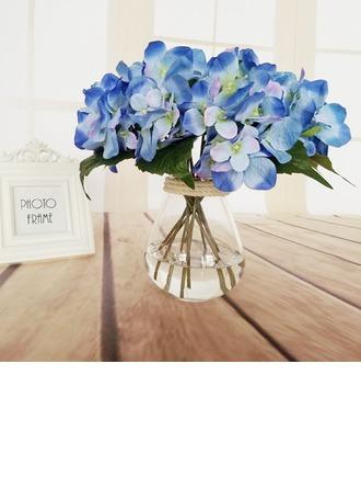 Романтика Ручная работа Искусственного шелка Свадебные букеты/Невесты Букеты/Свадебный Таблица цветов -