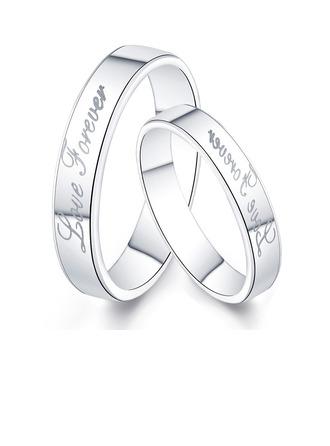 terling Silver Pár prstenů