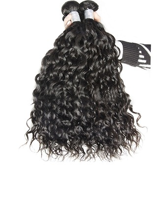 4A Non remy Water Wave Human Hair Human Hair Weave (Sold in a single piece) 50g