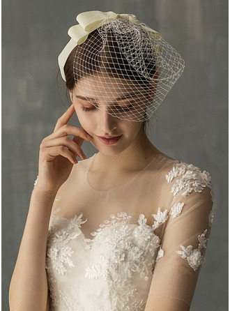 One-tier Birdcage Veils