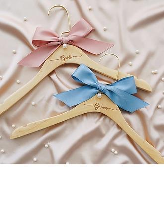 Braut-Geschenke - Faszinierend Sus Holz Seide Faux-Pperlen Aufhänger (Set von 2)