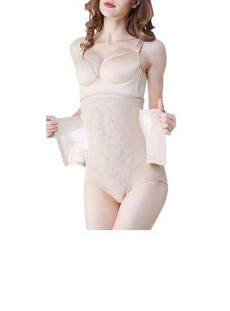 Kvinnor Feminin/Sexig/Klassisk stil polyester/Spets Andningsförmåga Midjebandspelare Shapewear
