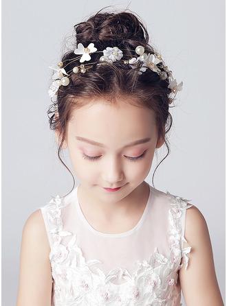 Legierung/Kristall mit Blume Stirnbänder