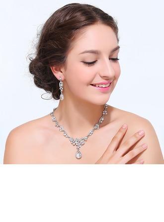 Cadeaux De Mariée - Beau Alliage Strass Ensemble de bijoux