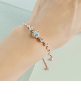 Анти-окисления утверждение Свадебные браслеты Браслеты невесты с Цирконий -