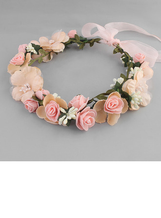 Ladies Beautiful Foam/Cambric Tiaras