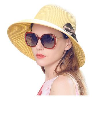 Damen Schöne/Elegant mit Bowknot Strohhut/Strand / Sonne Hüte