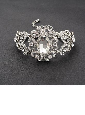 De moda Aleación/Diamantes de imitación Señoras' Pulseras