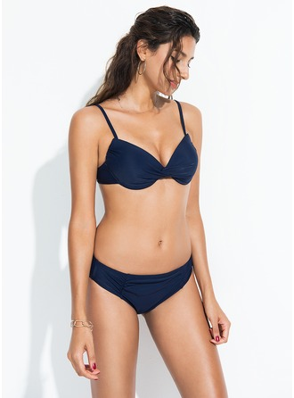 Sexy Taille basse De chinlon Bikinis Maillot de bain