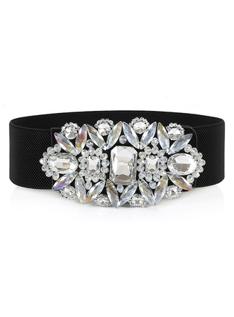 Fashional PU Belt With Rhinestones
