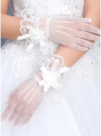 Tyll Håndleddet Lengde Brude Hansker