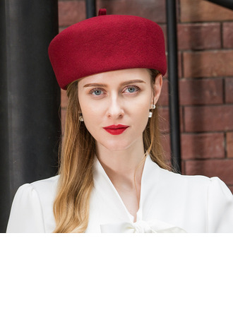 Ladies' Glamourous/Simple/Nice Wool Beret Hats