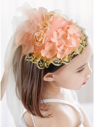 Polyester With Flower Headbands