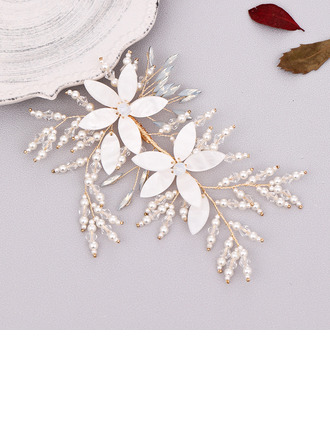 Filles Charme Strass/Alliage/Perles épingles à cheveux (Vendu dans une seule pièce)