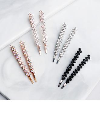 Ladies Rhinestone Hairpins (Set of 2)