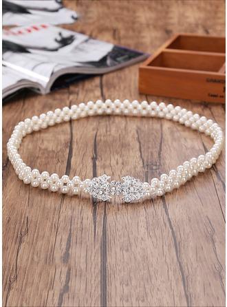 Mode De faux pearl Ceinture