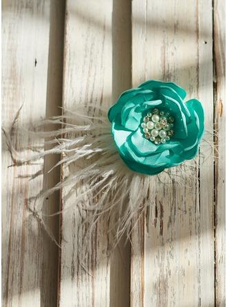 Satin mit Faux-Perlen Haarnadeln