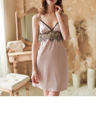 Satin Charming Bridal/Feminine Sleepwear/Sleepwear Sets