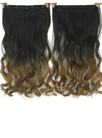 Corps cheveux synthétiques Pince pour extensions capillaires (Vendu en une seule pièce)