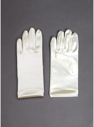 Cetim elástico Wrist Comprimento da luva