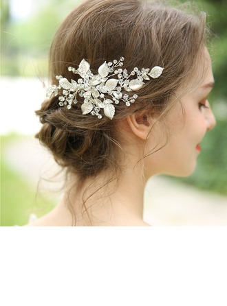 Dames Mooi Kristal/Strass/Legering Haarspelden met Strass/Kristal (Verkocht in één stuk)