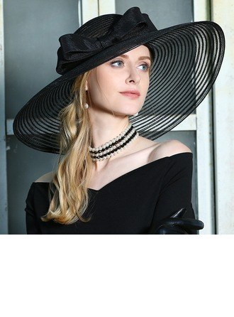 Ladies' Fashion/Special/Glamourous/Elegant/Unique/Eye-catching/Fancy/High Quality Net Yarn With Flower Beret Hat