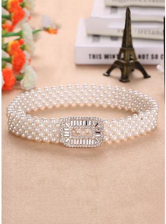 Élégante De faux pearl Ceinture