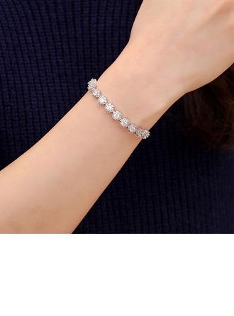 Shining Alloy With Rhinestone Women's Fashion Bracelets