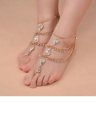 Uniek Legering met Strass Dames Juwelen van het Lichaam (Verkocht in één stuk)