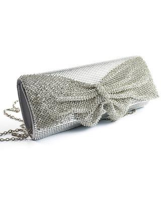 Elegante/De moda/Luminoso de aluminio Bolso Claqué/Bolsos De Noche