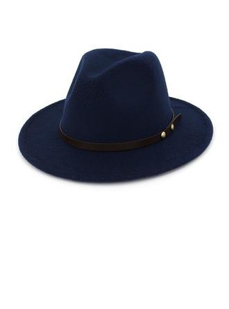 Unisex Eye-lov Felt Fedora Hat